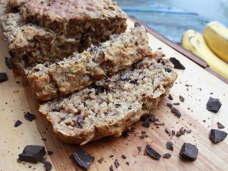 Chocolate Chip Banana Bread, No sugar-added, Wheat-free