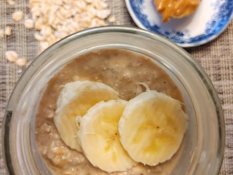 Peanut Butter & Banana Overnight Oats