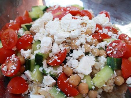 Summery, High Fibre Greek Salad