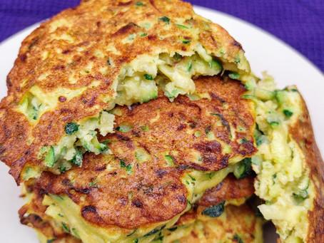 Zucchini Fritters, gluten-free