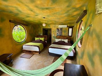 Selva Junior suite ecohotel tulum hotel rivera maya beachfront