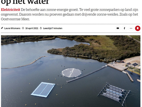 Floating solar has a bright future in The Netherlands