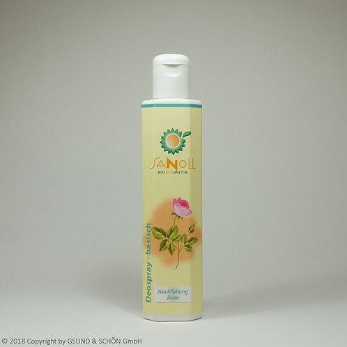 Deo - basisch - Rose-Neroli  (Nachfüllung) 200 ml