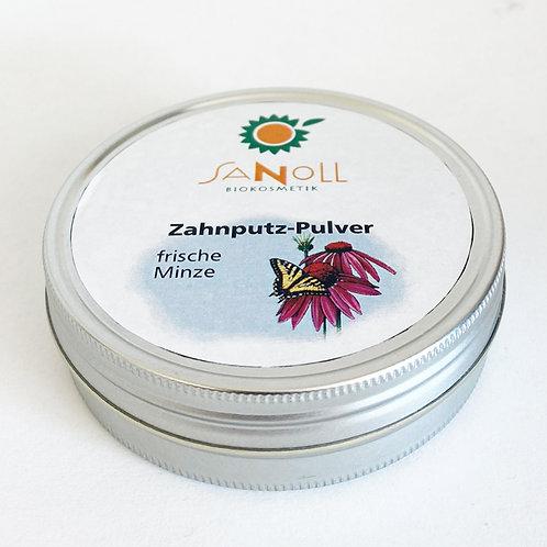 Zahnputz-Pulver frischer Minze 50ml