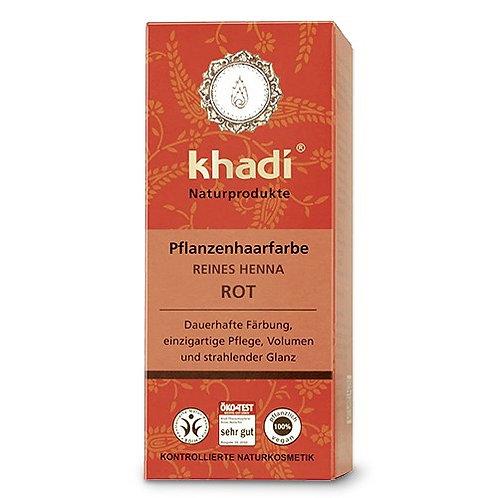 Khadi Pflanzenhaarfarbe Reines Henna Rot, BDIH