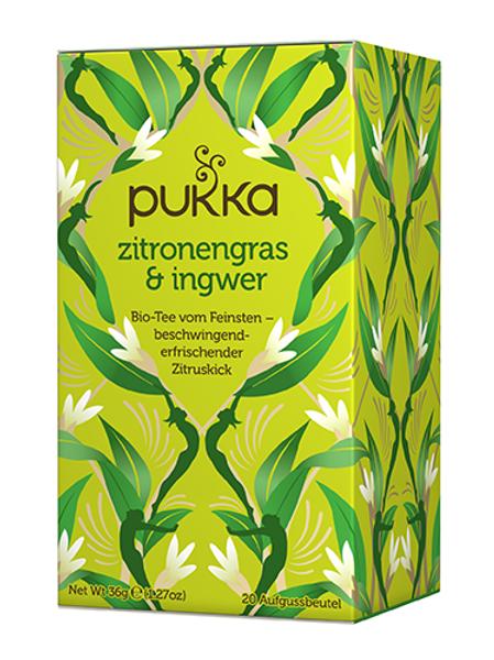 Pukka Zitronengras & Ingwer Tee