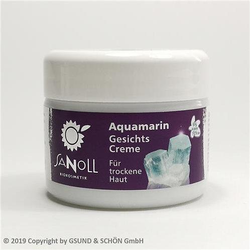 Aquamarin Gesichtscreme, für trockene Haut 50 ml