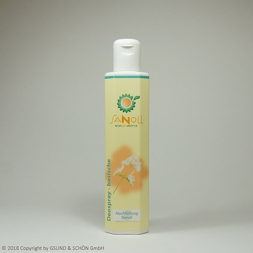 Deo - basisch - Neroli (Nachfüllung) 200 ml