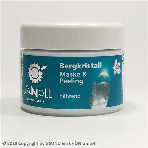 Bergkristall Maske & Peeling nährend 30 ml