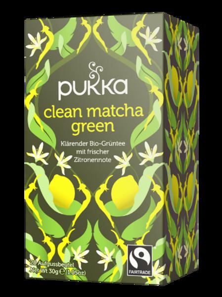 Clean Green Matcha Tee