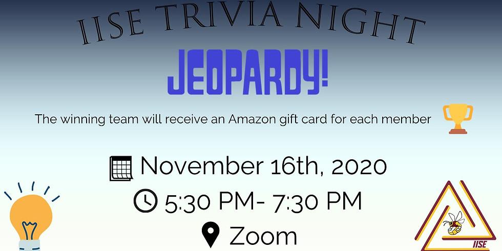 Industrial Jeopardy Night