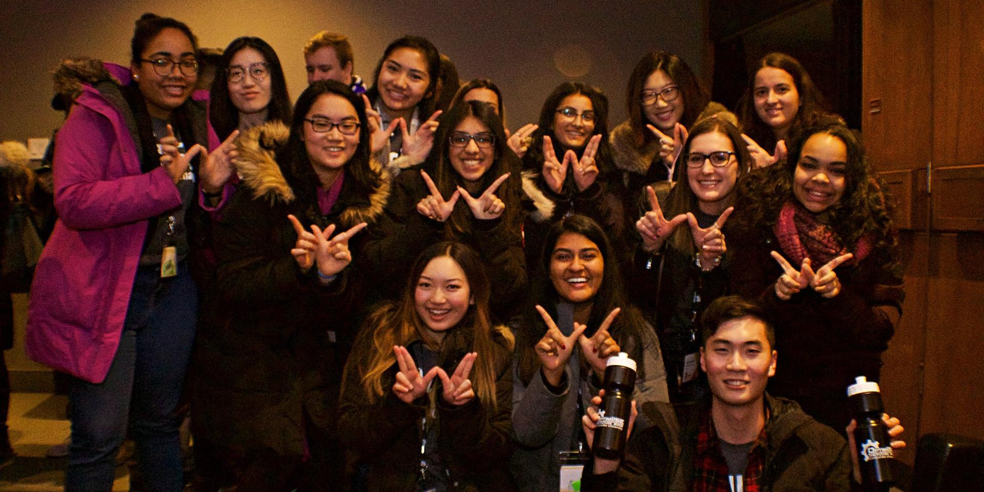 University of Waterloo delegation