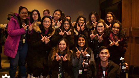 University of Waterloo delegation