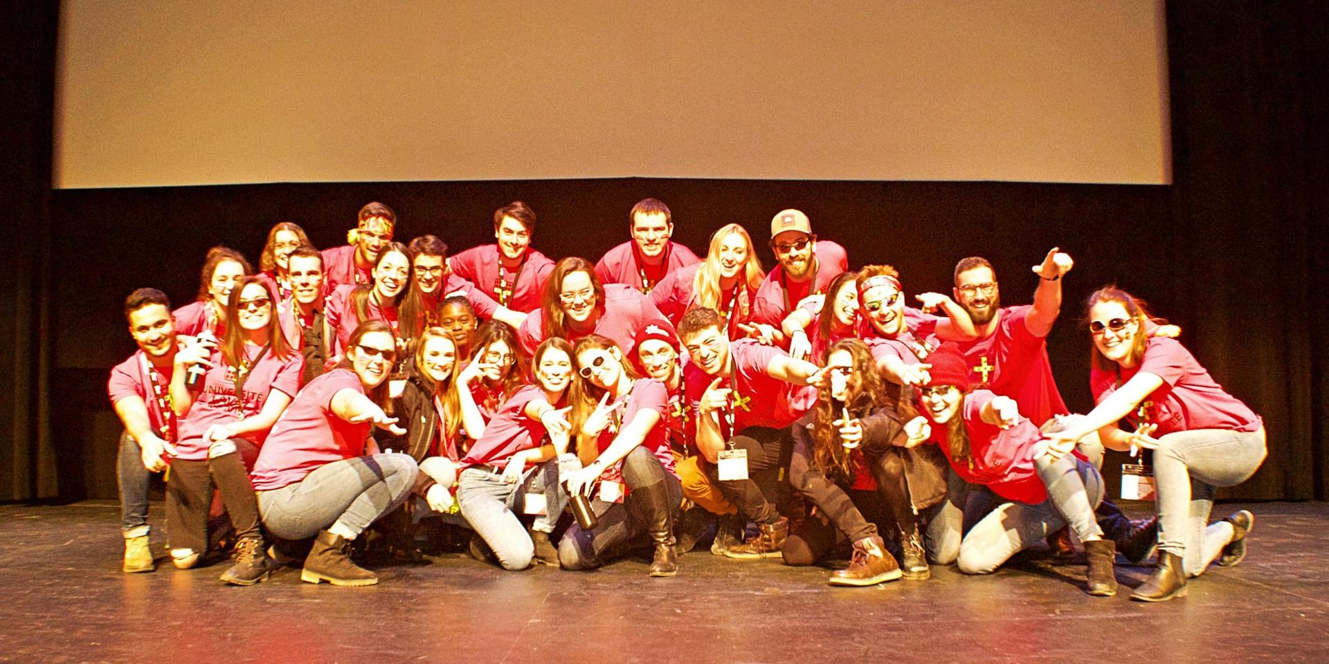 Université Laval delegation