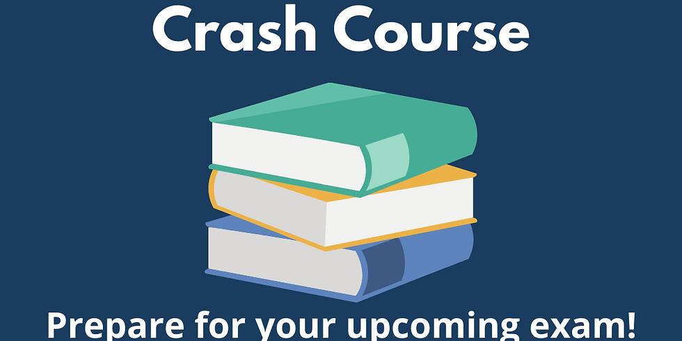 INDU 323 Crash Course