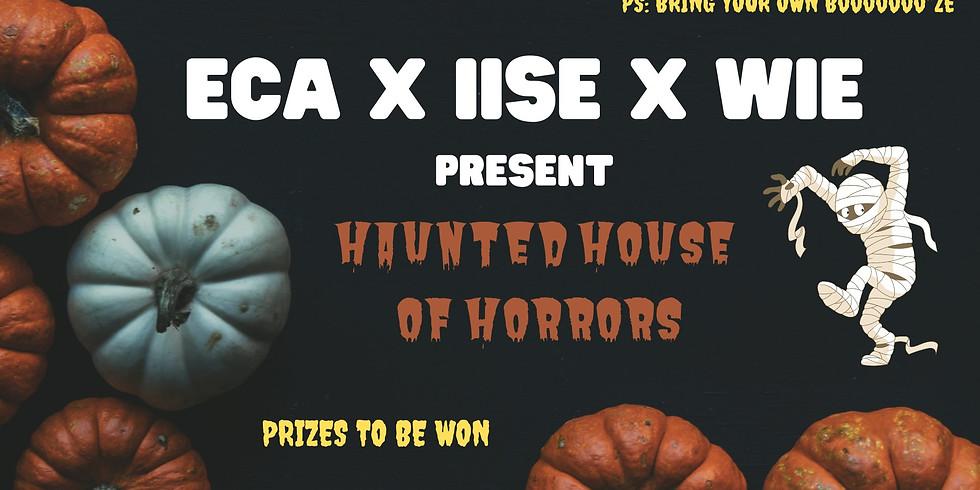 ECA x IISE x WIE Halloween Party