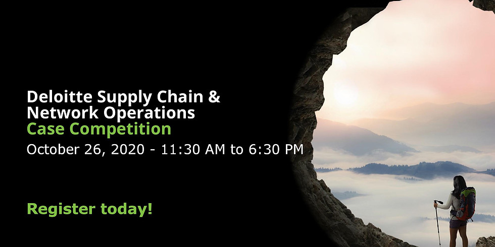 Deloitte Supply Chain & Network Operations Case Competition