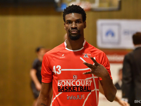 Un MVP à Neuchâtel : Xavier Ford rejoint Union