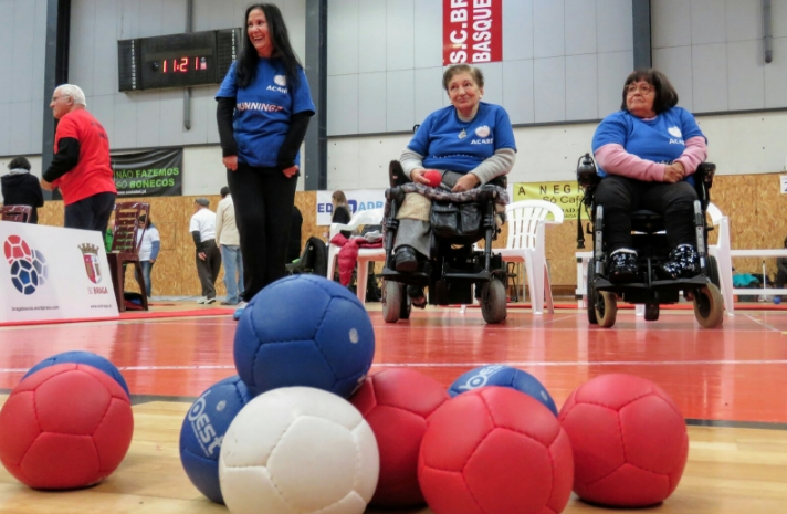 Senior Boccia tournament