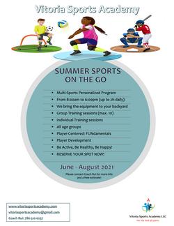 Summer 2021 flyer
