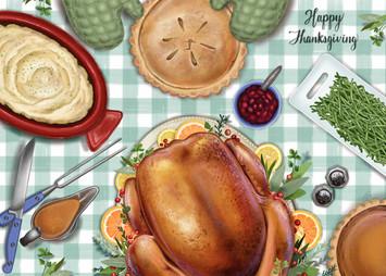 Thanksgiving Feast (2019)