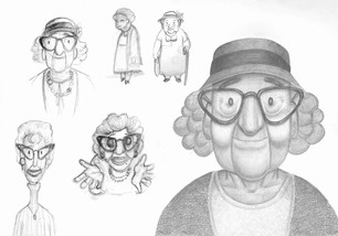 Grandma Sketches (2019)