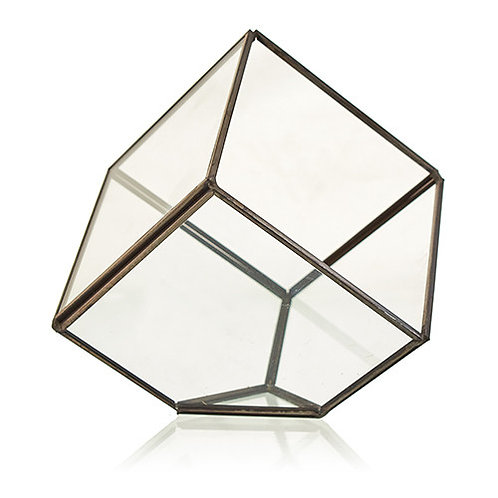 Glass Terrarium - Cube