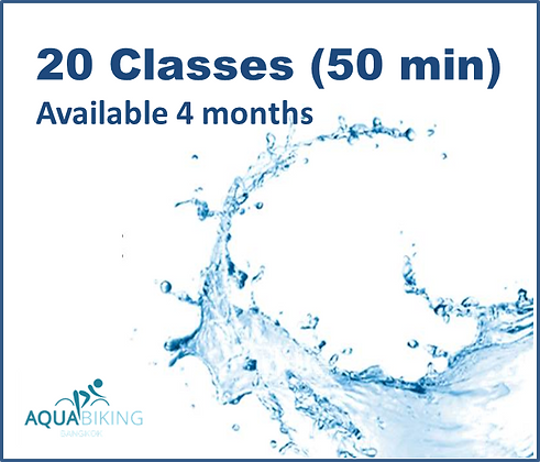 20 Classes - Available 4 months