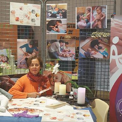 Instructrice en massage bébé - Liliane BESSE-LACOUR