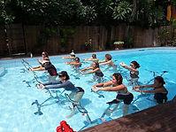 Cours collectifs Aquabiking Bangkok