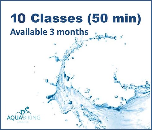 10 Classes - Available 3 months