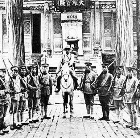 L'ultima distruzione del tempio Shaolin