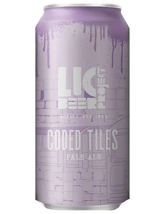 LIC Beer Project Coded Tiles (16oz) can