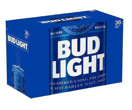 Bud Light 36 pack (12oz cans)