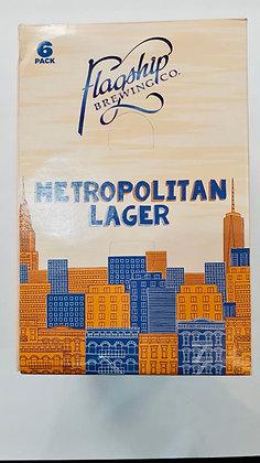 Flagship Metropolitan Lager (6pk cans 12oz)