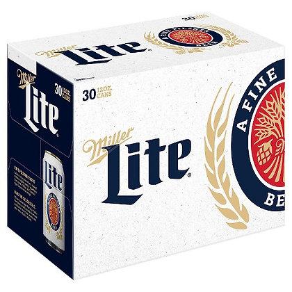 Miller Light 36 pack (12oz cans)