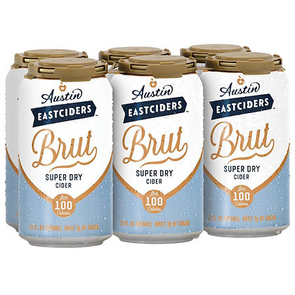 Austin Cider Brut 12oz (6pk) CN