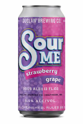 Duclaw Brewing Sour Me Strawberry grape (4pk)