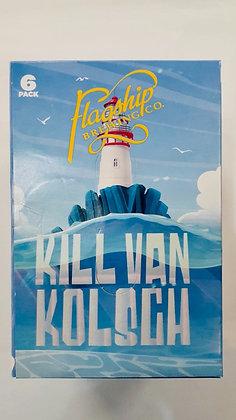 Flaship Kill Van kolsh (6pk cans 12oz)