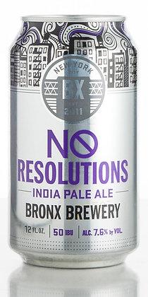 Bronx Brewery No Resolutions (12oz)