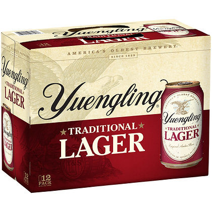 Yuengling 12 pack (12oz cans)