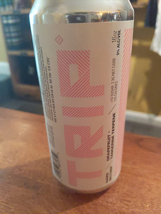 Trip Hard Seltzer Grapefruit + Mango + Mango terpene 4 pack 16 oz cans