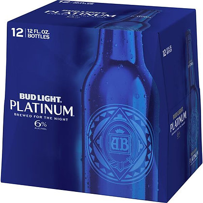 Bud light platinum 12oz (12pk) NR
