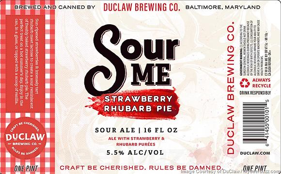 Duclaw - Sour Me Stawberry Rhubarb Pie
