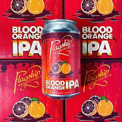 Flagship Blood Orange IPA (6pk 12oz cans)