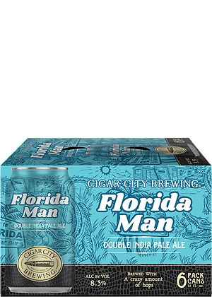 Cigar City - Florida Man - 6 Pack cans