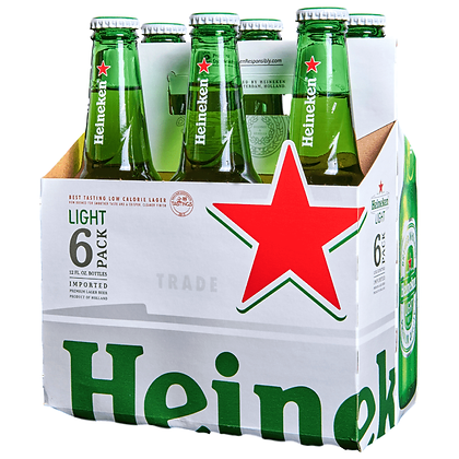 Heineken Light 12oz (6pk) NR