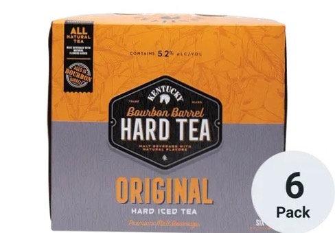 Kentucky Bourbon Original Hard Iced tea (6pk)