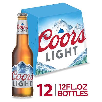 Coors light 12pk bt 12oz