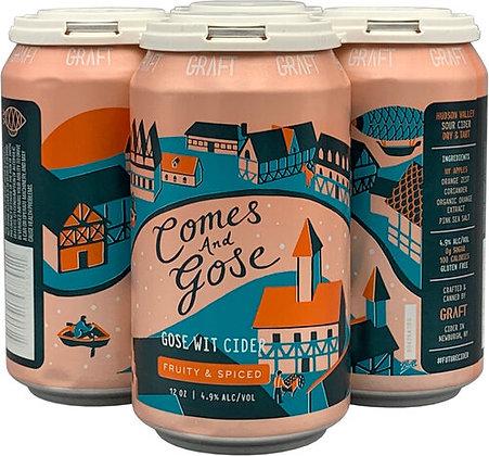 Graft Cider Comes & Gose (12 oz)
